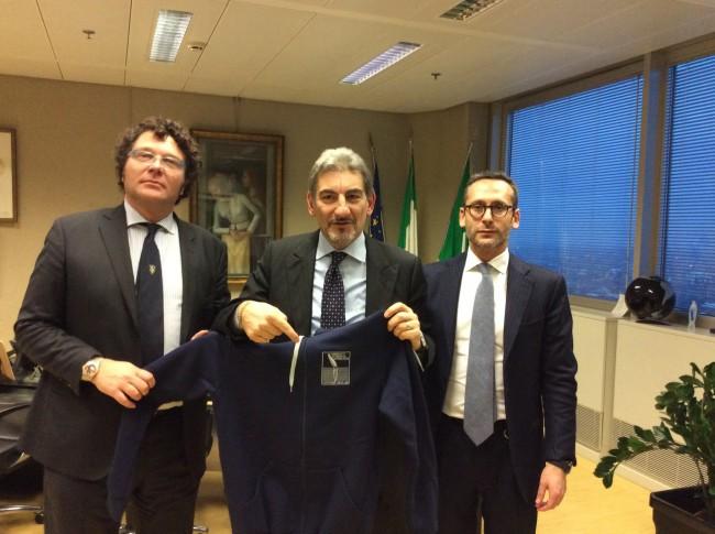 2016-02-17 consegna maglia Canottieri