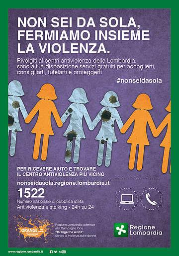 non-sei-sola-violenza-contro-donne
